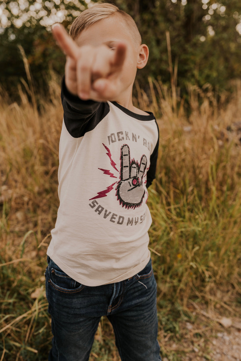 Rock N Roll Boys Tee | ROOLEE