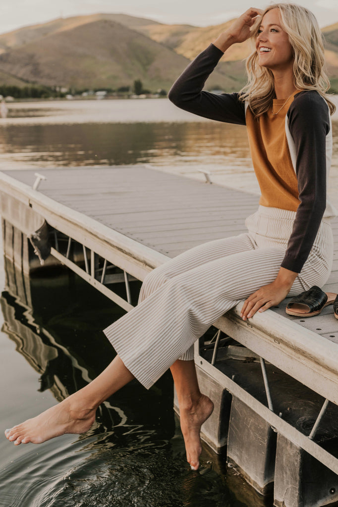 Wide Leg Pocket Pants | ROOLEE