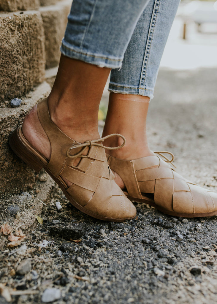 Side Bow Woven Flats | ROOLEE