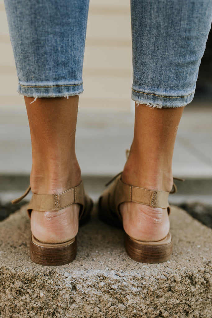 Elastic Ankle Flats | ROOLEE