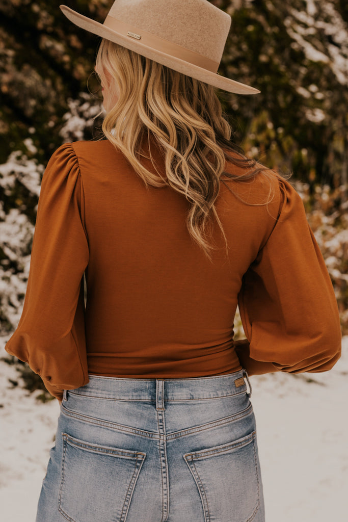 Copper Fall Layering Bodysuit | ROOLEE