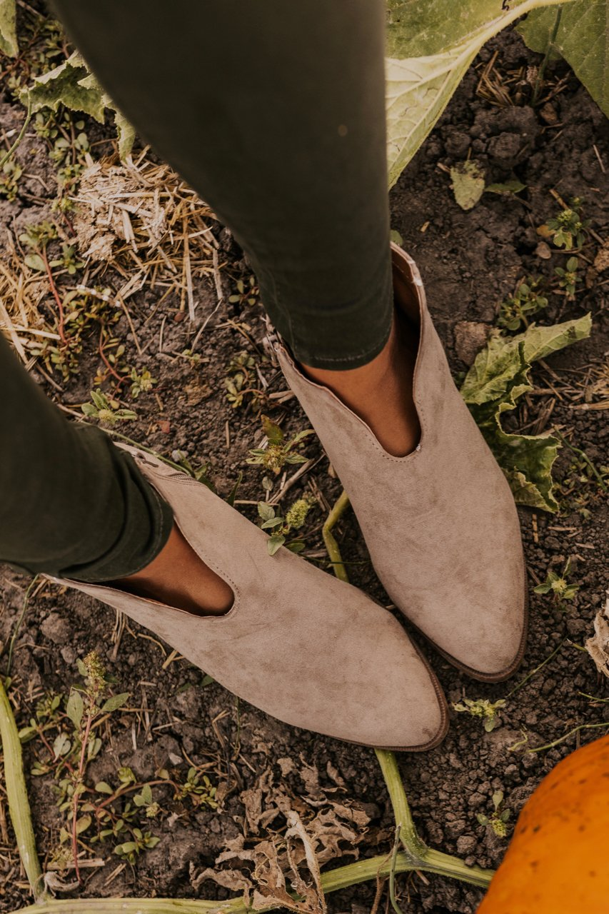 Neutral Booties for Fall | ROOLEE