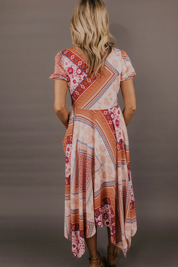 Multi Colored Patchwork Dress | ROOLEE Dresses