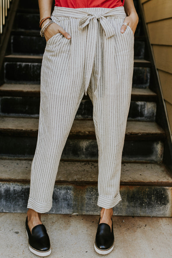 Oakland Stripe Pants | ROOLEE