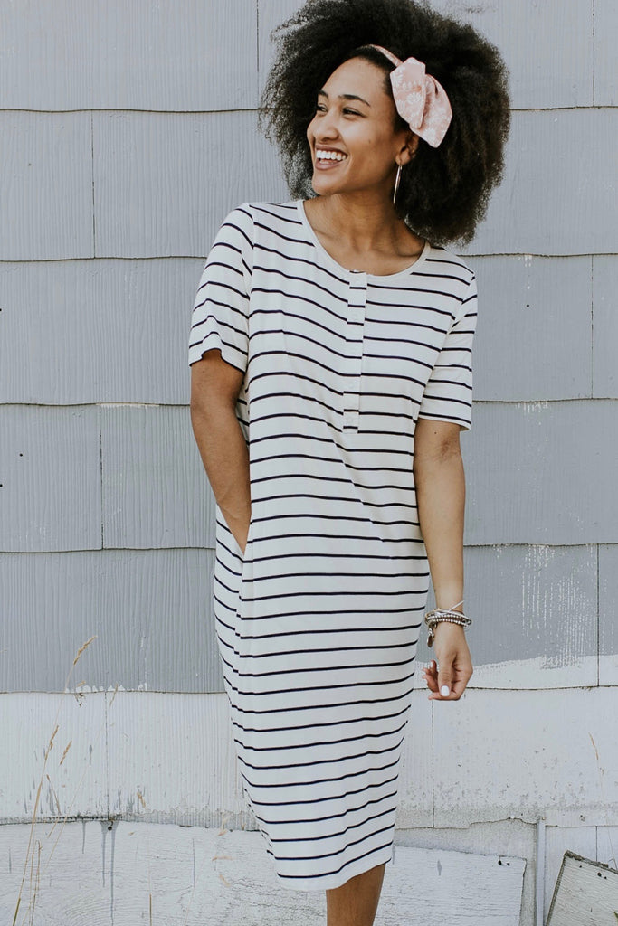 Maryland Stripe Dress | ROOLEE