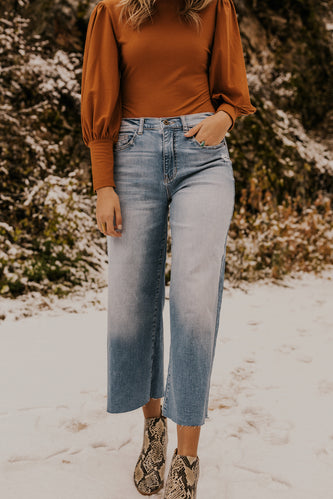 Wide-Leg Jeans | ROOLEE