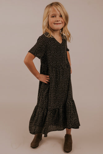 Black Polka Dot Dress | ROOLEE