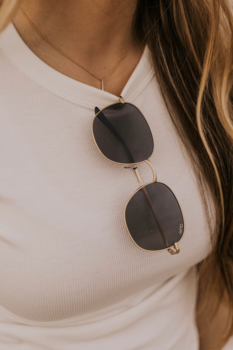 Metal Circle Sunglasses | ROOLEE