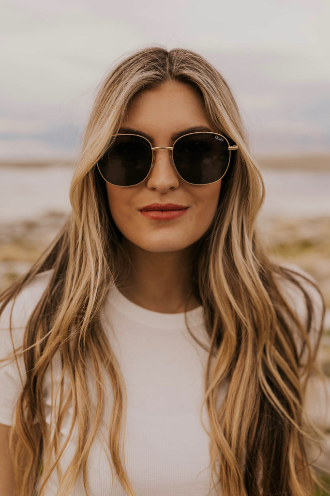 Large Metal Sunglasses | ROOLEE