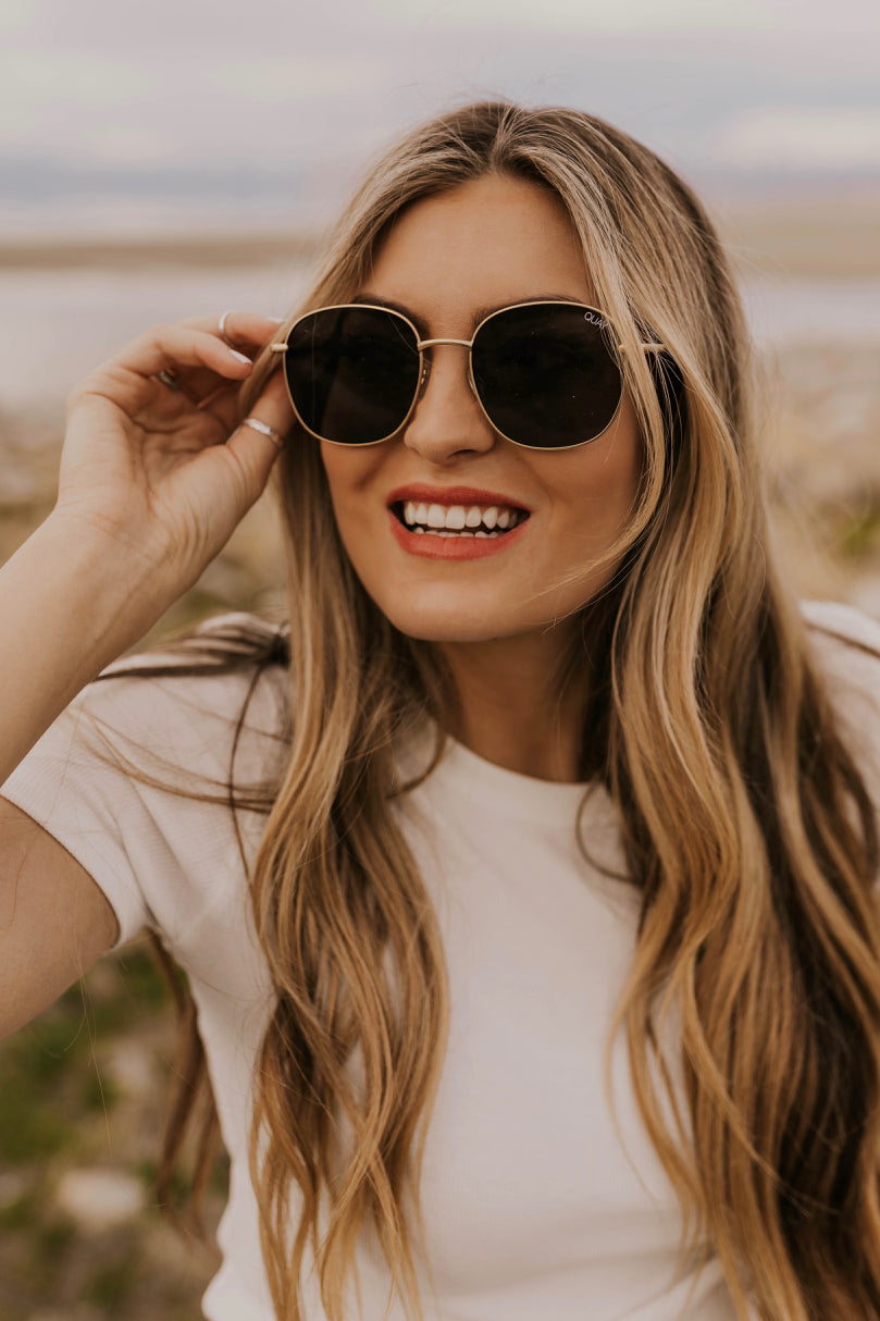 Circle Wire Sunglasses | ROOLEE