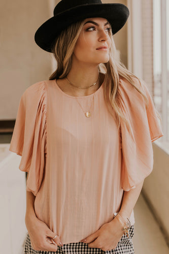 Blush Pink Top | ROOLEE