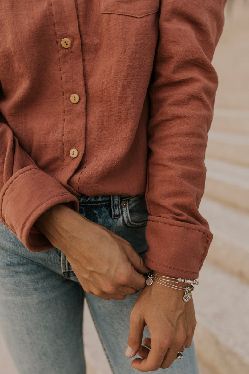 Long Sleeve Button Up | ROOLEE