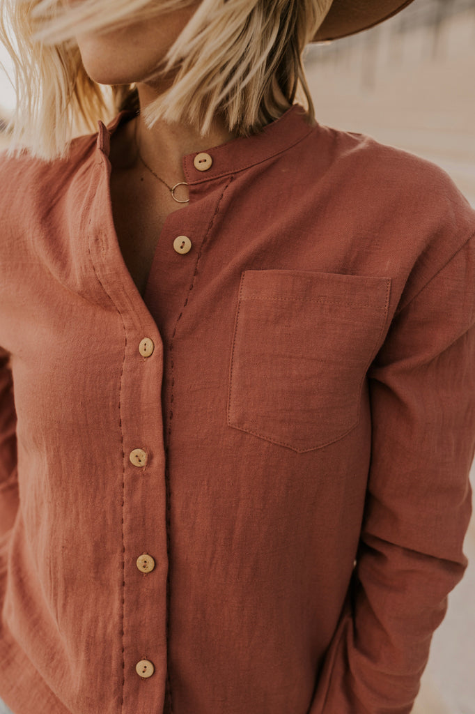 Long Sleeve Pocket Shirt | ROOLEE