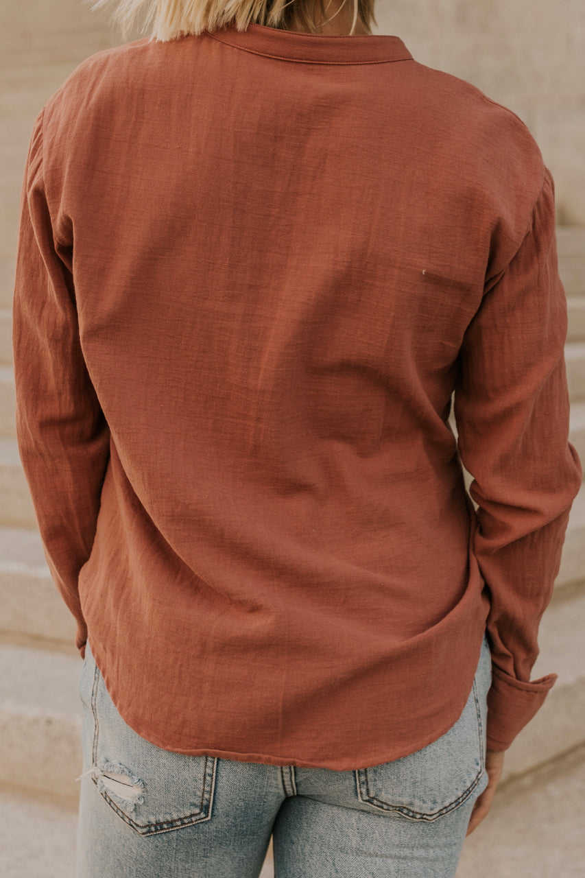Simple Button Up Shirt | ROOLEE