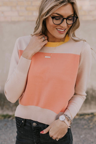 Belridge Colorblock Sweater | ROOLEE Tops