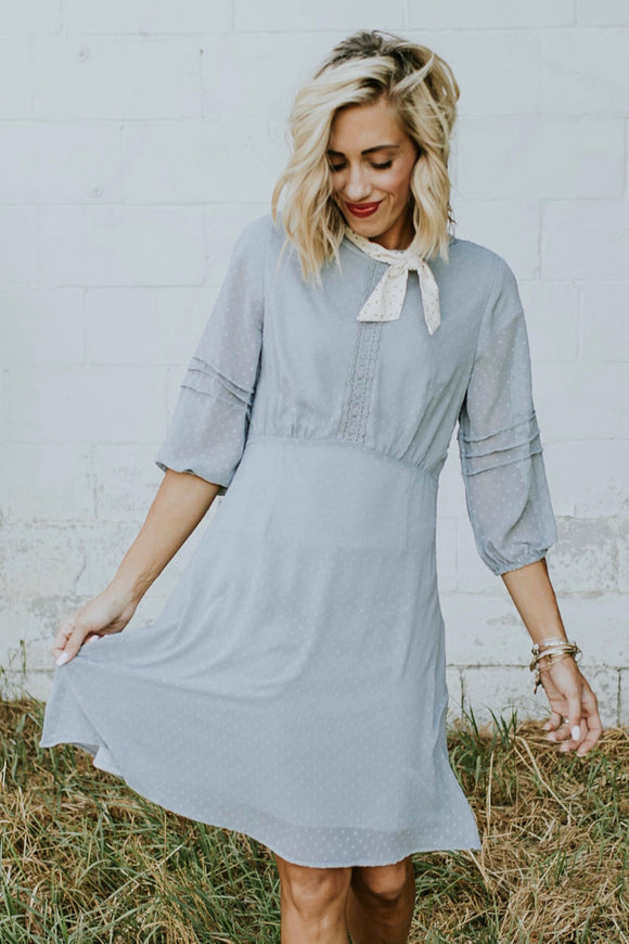 The Switzerland Detail Dress | ROOLEE