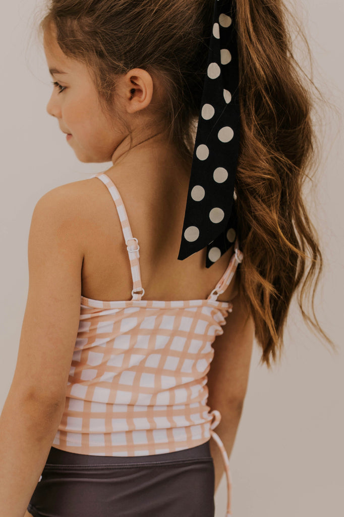 Peach Swim Suits For Kids | ROOLEE