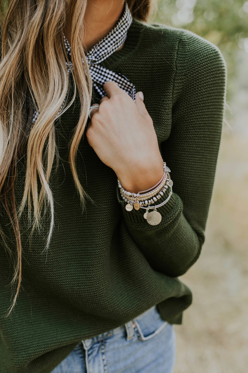 Fall Sweater Outfit | ROOLEE