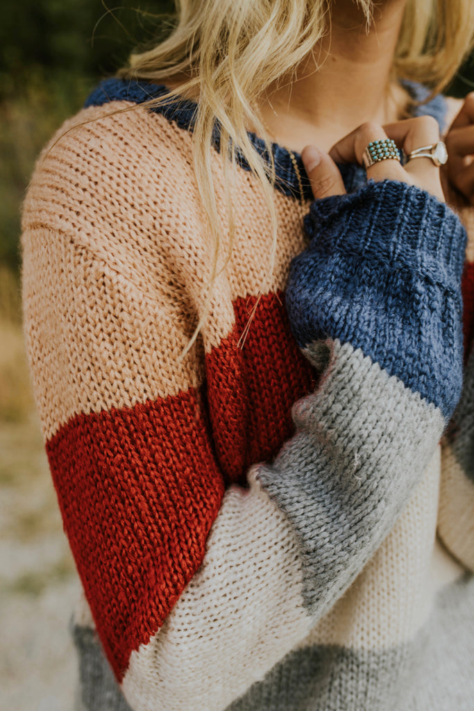 Stripe Sweater for Fall | ROOLEE