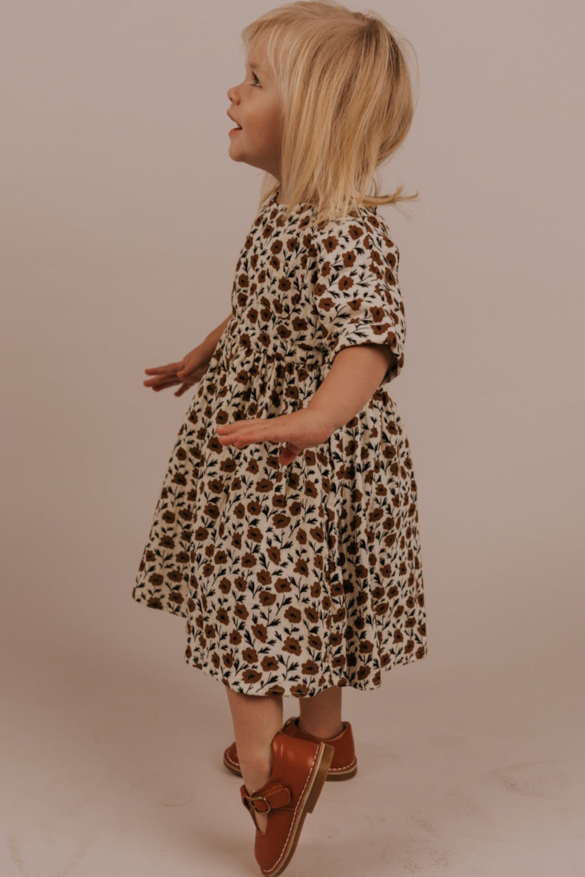 Floral Kids Dress | ROOLEE