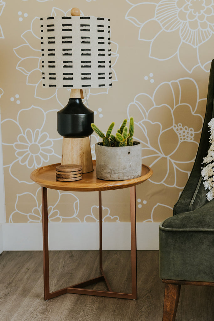 Delaney Round End Table