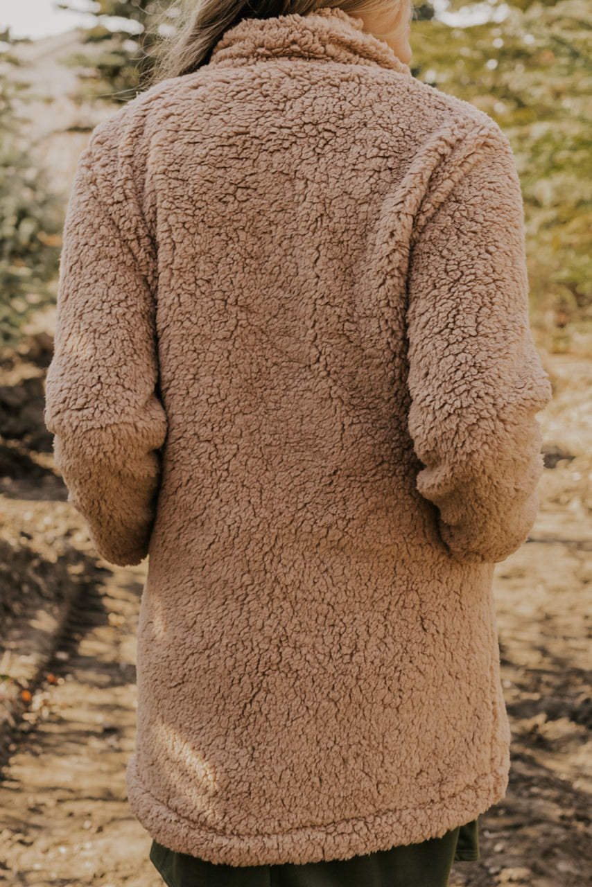 Fuzzy Light Winter Coat | ROOLEE