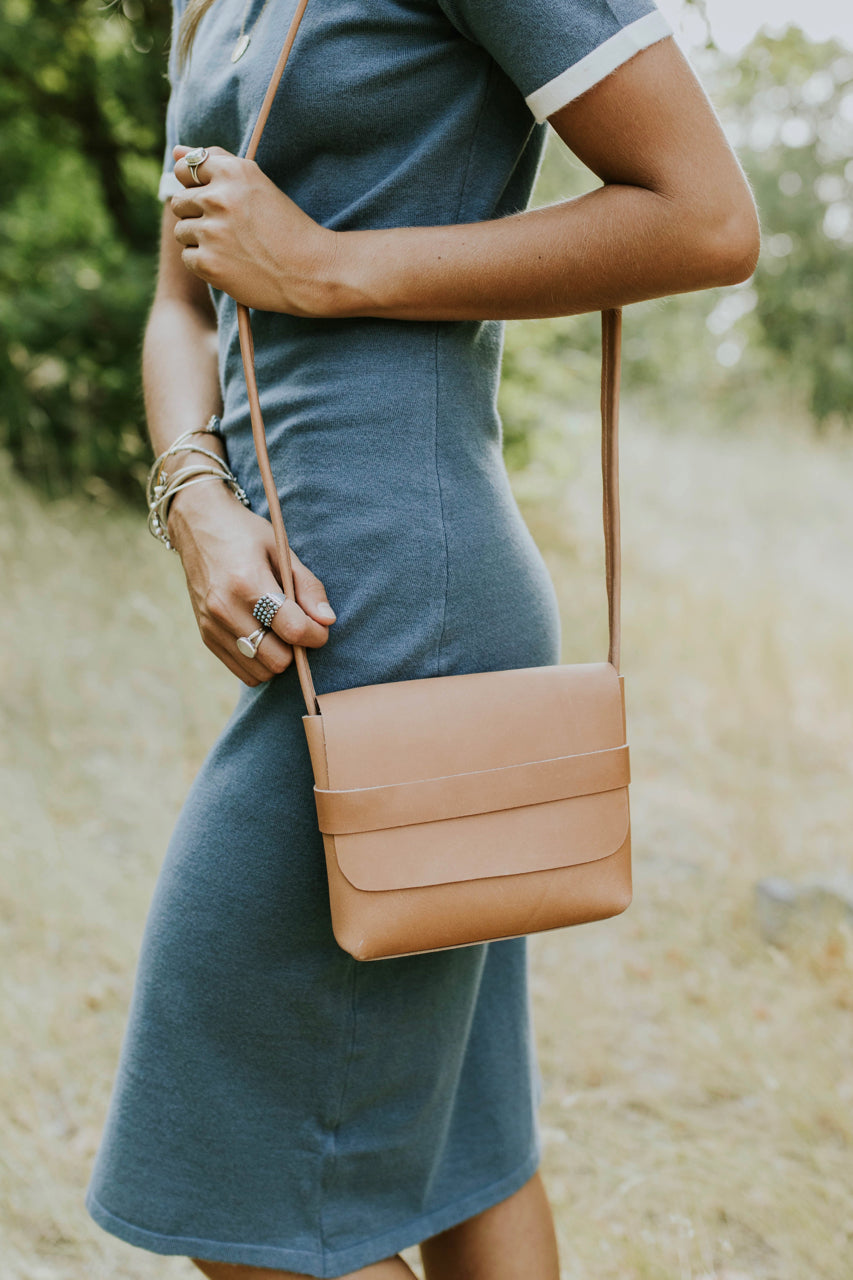 Leather Crossbody Purse | ROOLEE