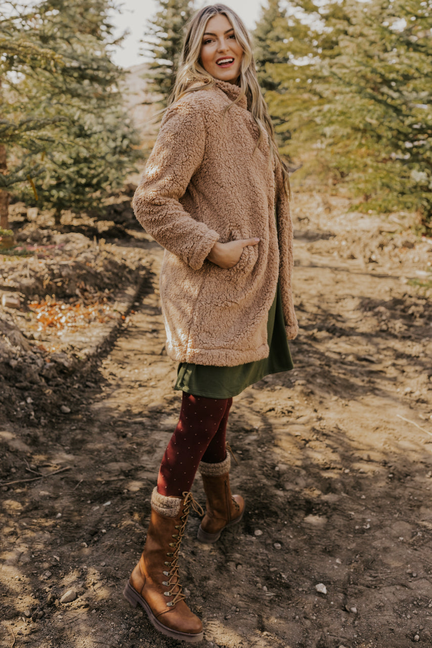 Long Winter Faux Fur Coat | ROOLEE