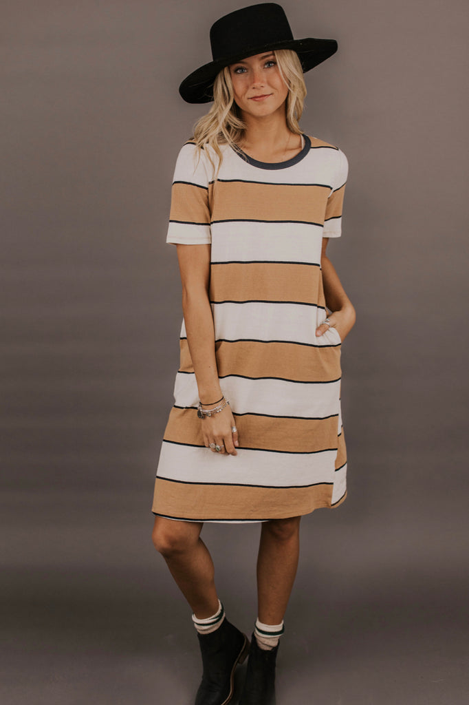 Striped Dress | ROOLEE