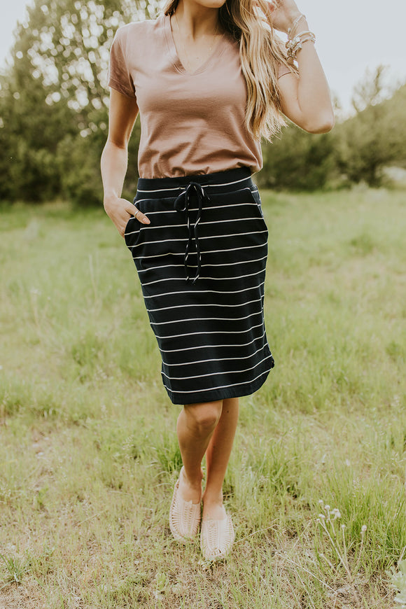 Ready To Run Pocket Skirt | ROOLEE