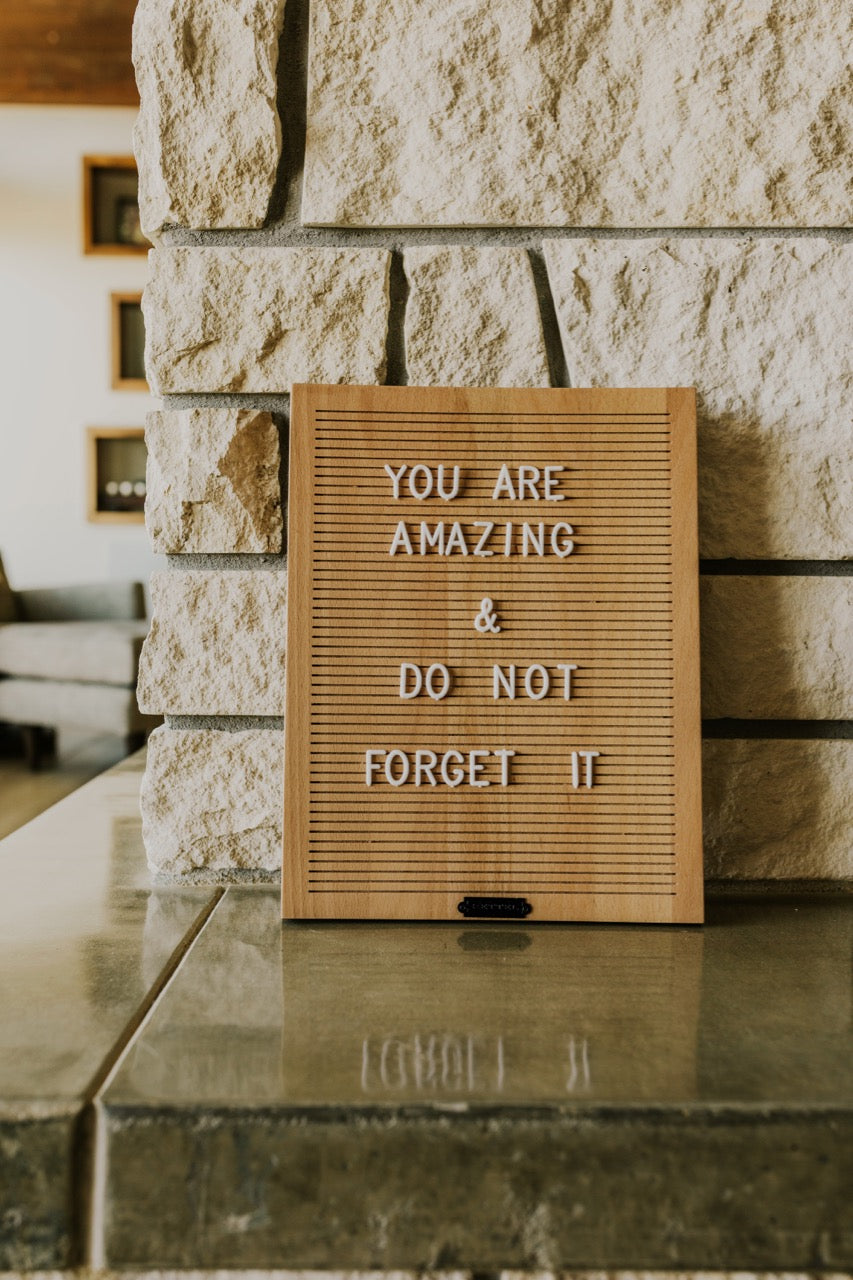 Rettel Co. Letter Board | ROOLEE