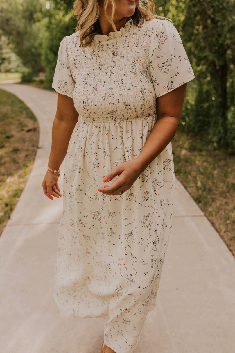 High Neck Maxi Dress | ROOLEE
