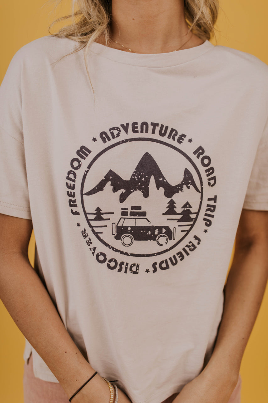 Adventure Graphic Tee | ROOLEE