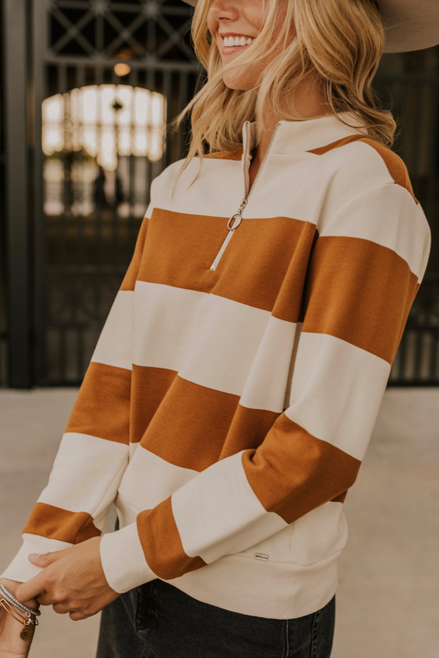 Striped Pullover | ROOLEE