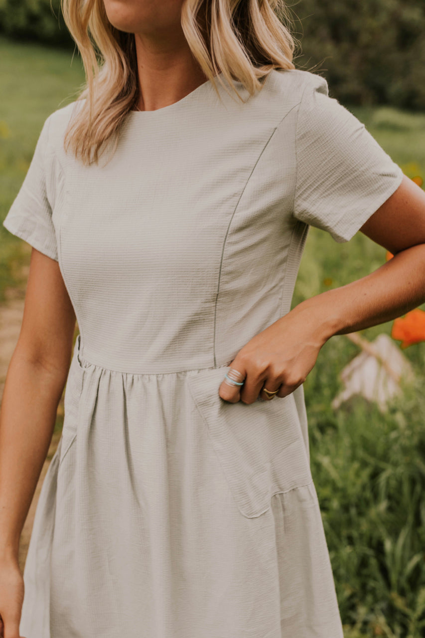 Cute Mom Dress with Pockets | ROOLEE