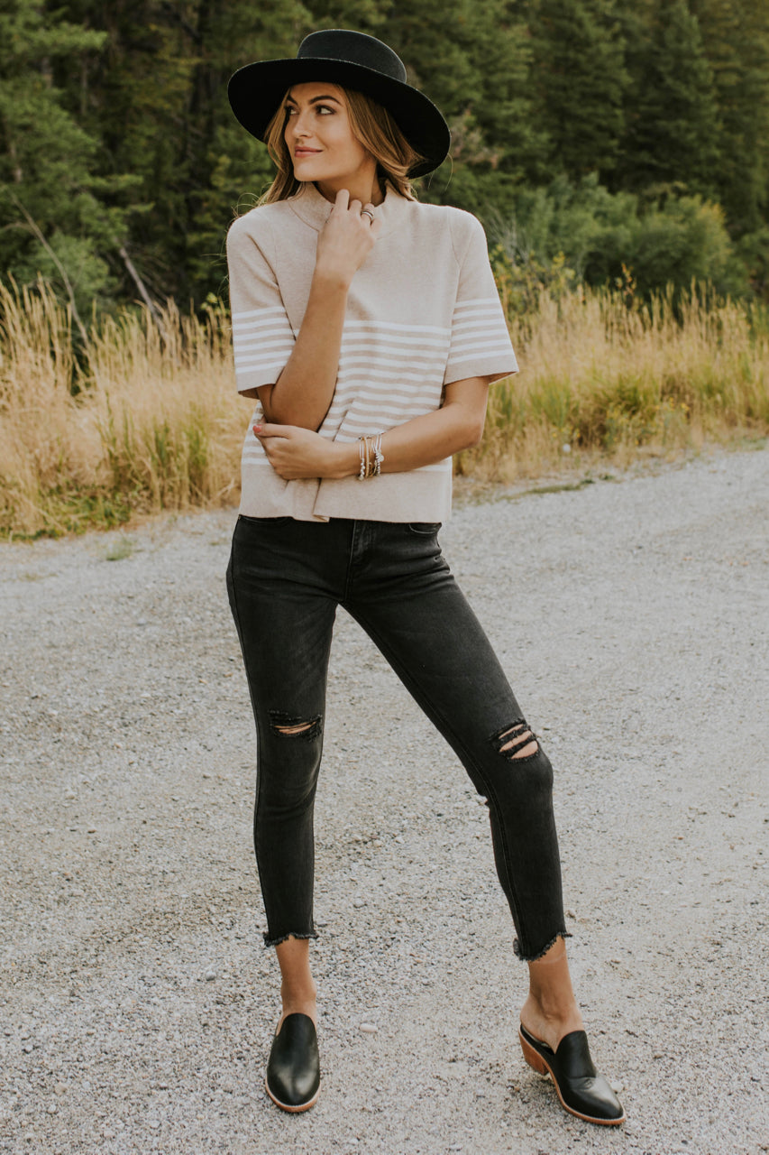 c149b23145c4 ... Short Sleeve Sweater Outfit