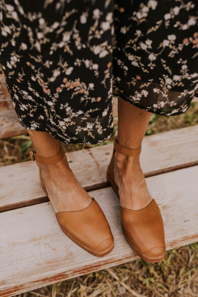 Trendy Ankle Strap Flats | ROOLEE