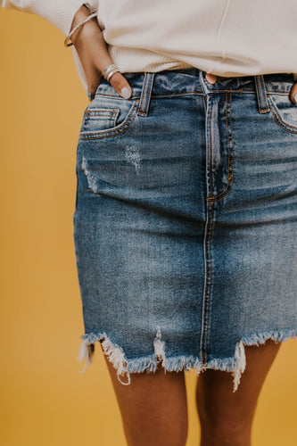 Denim Skirt | ROOLEE