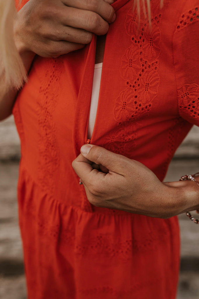 Nursing Friendly Dresses | ROOLEE