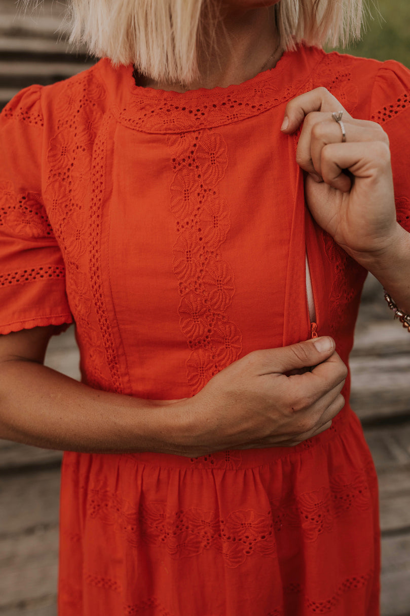 Modest Nursing Friendly Dresses | ROOLEE