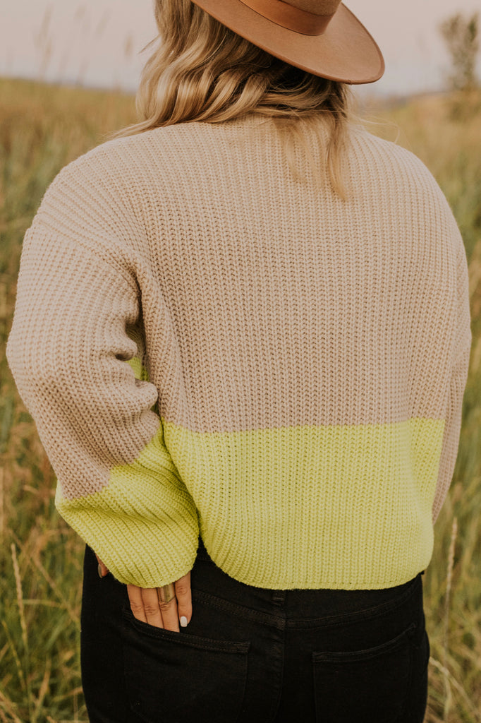 Two Tone Sweater | ROOLEE