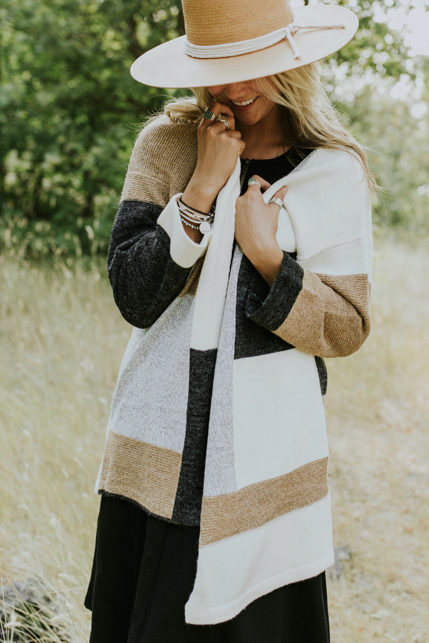 Woodrow Colorblock Cardigan | ROOLEE