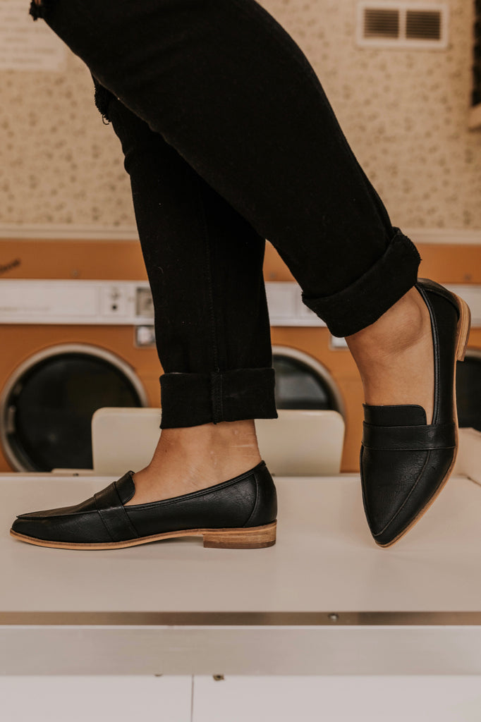 Black Loafers | ROOLEE