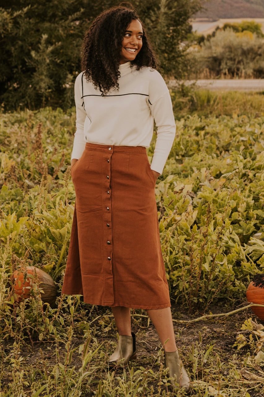 Corduroy Outfit Inspiration | ROOLEE