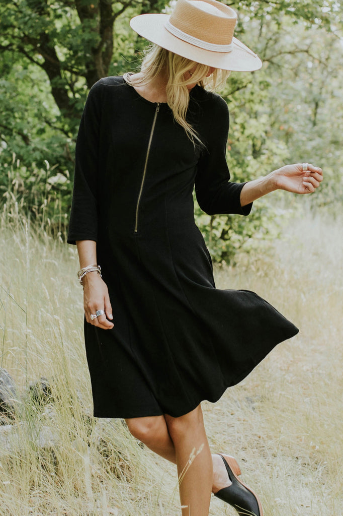 3/4 Length Sleeve Dress For Women | ROOLEE