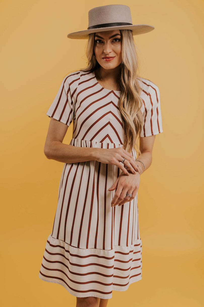 Striped Spring Dress | ROOLEE