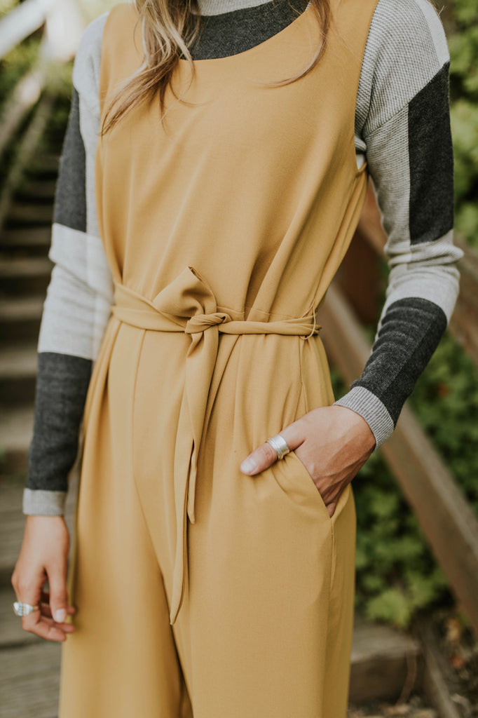 Jumpsuit With Side Pockets For Women | ROOLEE