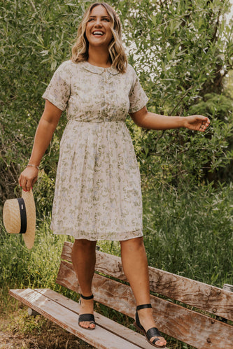 Floral Nursing Friendly Dress | ROOLEE
