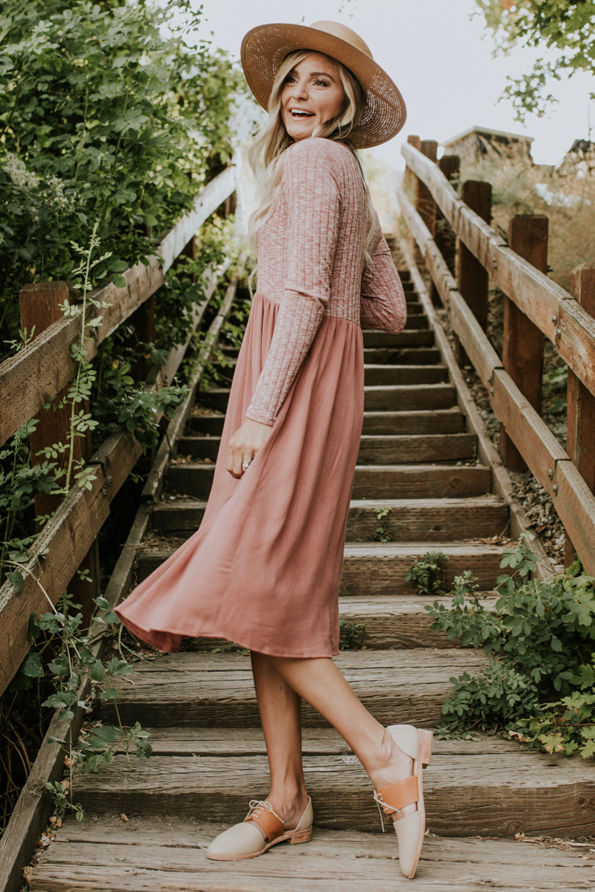 Long Sleeve Dress Outfit | ROOLEE