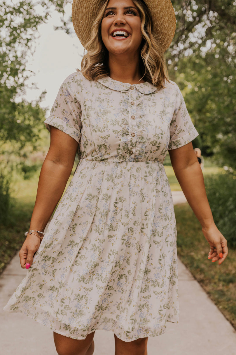 Peter Pan Collared Dress | ROOLEE